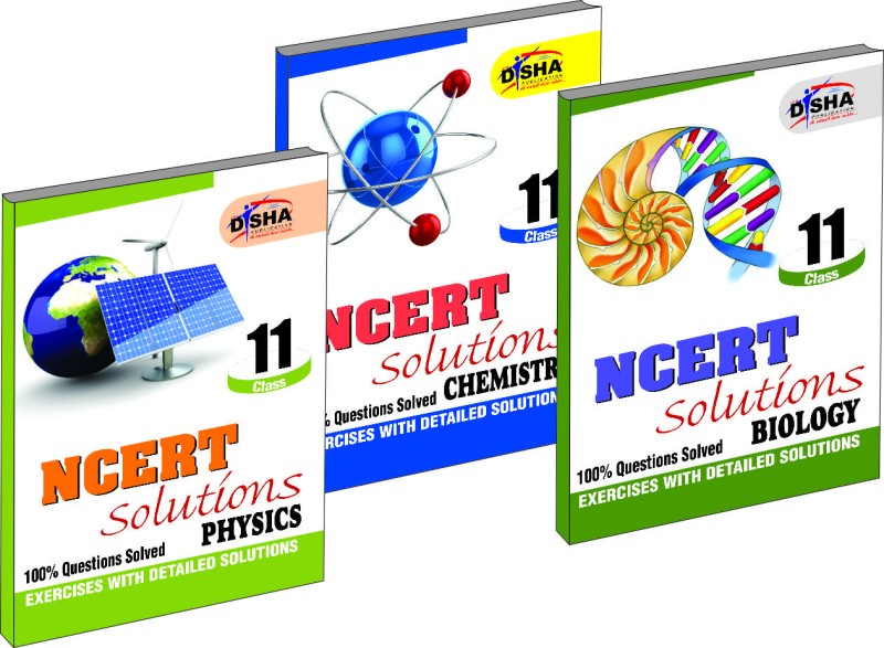 NCERT Solutions: Physics, Chemistry and Biology, Class – 11 (Set of 3 Books)(English, Paperback, Disha Experts)