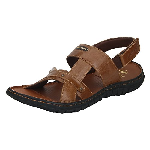 Red Tape Men's Tan Sandals – 8 UK/India (42 EU)(RSE0343-8)