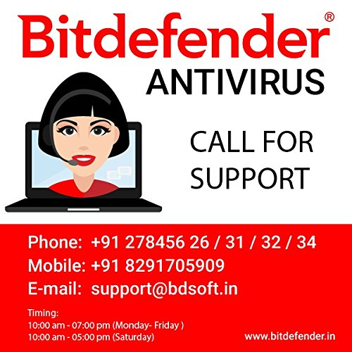 BitDefender Total Security Latest Version – 1 Device, 3 Years (Activation Key Card)