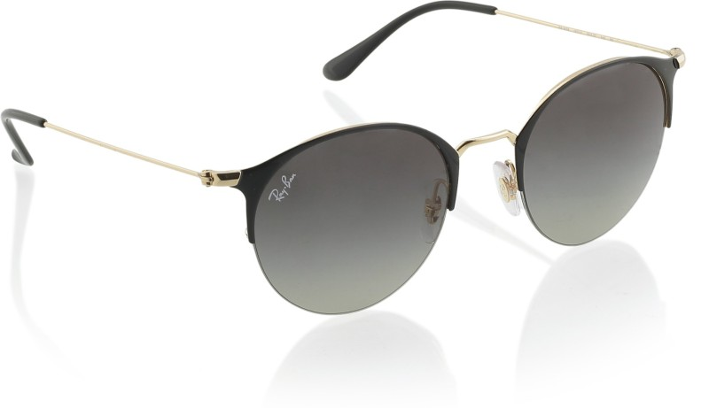 Ray-Ban Round Sunglasses(Brown)