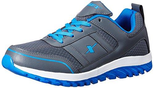 Sparx Men's  Dark Grey and Blue Running Shoes – 9 UK/India (43.33 EU) (SM-502)