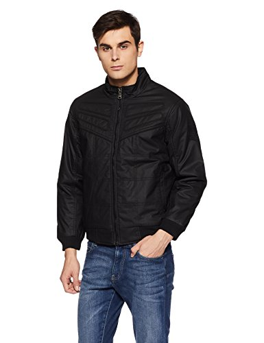 endeavor mens cotton jacket 16103 bblackmedium -