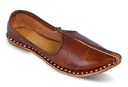 unique mens soft leather juti for comford your foot uk 9 -