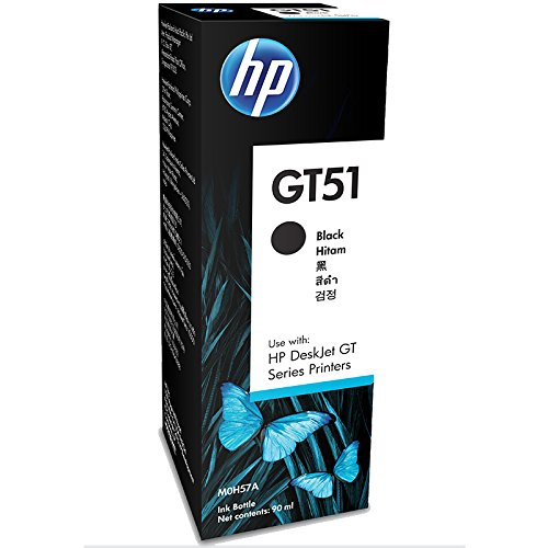 hp gt51 ink bottle black -