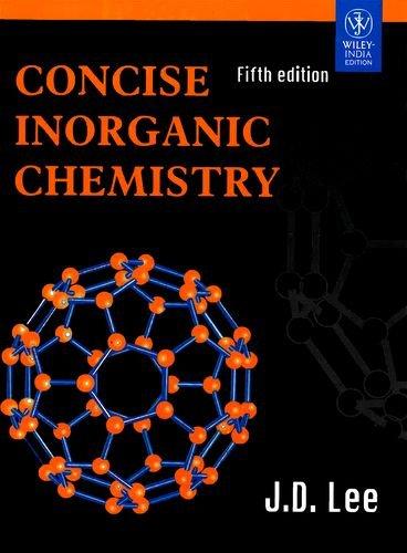 concise inorganic chemistry -