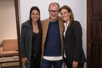 Inma Del Valle, Francisco Fonteyne y Blanca Aguirre © La Siesta Press / J. Fernández Ortega