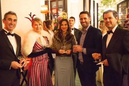 Jaime Oliver, Eva Quintana, Paloma Hernaiz, Tomas Miró, Boris © La Siesta Press / J. Fernández Ortega