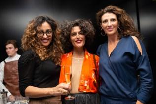 Isabel Reynes, Ferrouz Bousselma y Marta Ferrer