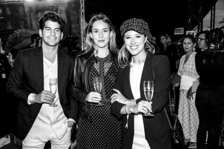 Josue Martin, Carolina Alabern y Marina Danus © La Siesta Press / J. Fernández Ortega