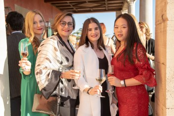 Athenea Bosch, Antonia Roger, Jin Li Chen y Judit Barrachina