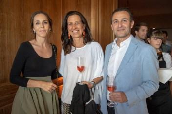 Cristiana Lahoz, Mara Ferrer y Guillermo Sánchez-Cantalejo © La Siesta Press / J. Fernández Ortega