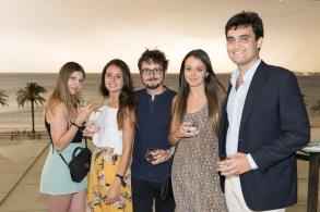 Maria Isabel Jaume, Mayte Martín, Sergio Martín, Gema Hernández y Gabriel Arrom
