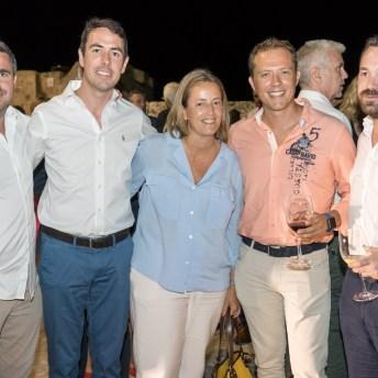 Xisco Palmer, Eduard Vilanova, Pedro Martínez, Maria, Xavi March © La Siesta Press