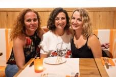 Raquel Guarch, Sandra Vigil y Marta Ferrer
