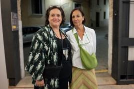 Lluïsa Verd y Antonia María Llobera