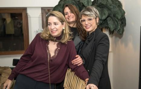 Adriana Colás, Alicia Polo y Raquel Agüeros