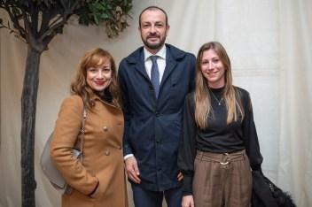 Feli Pujante (Dtra Comercial Global En Plaza Del Olivar) Luis Foix (Dtor. Zona Baleares) Y Nati Rodriguez (Responsable Mallorca Oeste) de BBVA