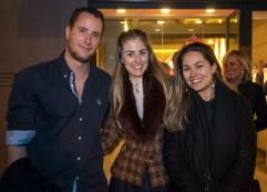 David Ramos, Cati Llompart y Mercedes Terrasa