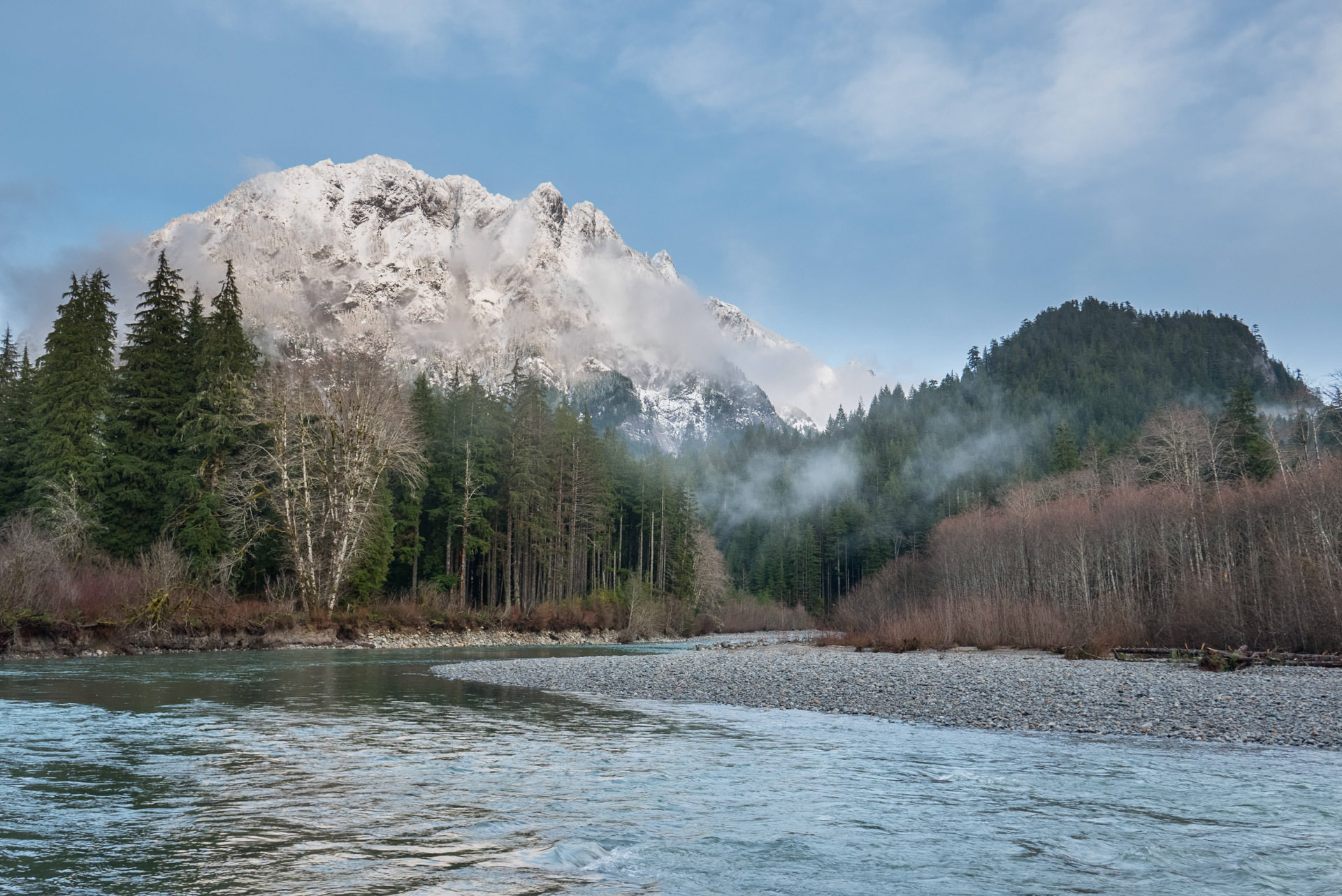 Fifty Years of Wild  Scenic Rivers in Washington Middle Fork Snoqualmie River and Pratt River