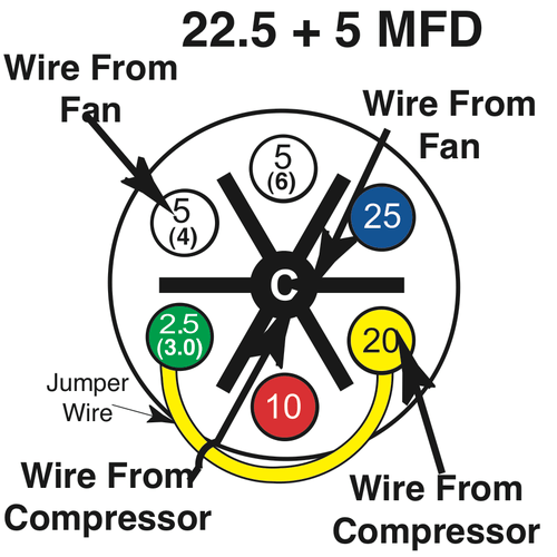 turbo 200 capacitor wiring diagram Starter Capacitor Wiring