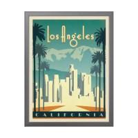 Anderson Design Group  American Travel  Los Angeles Skyline