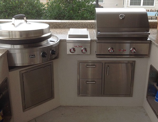 Evo 30 BuiltIn Classic Grill  Affordable Outdoor Kitchens
