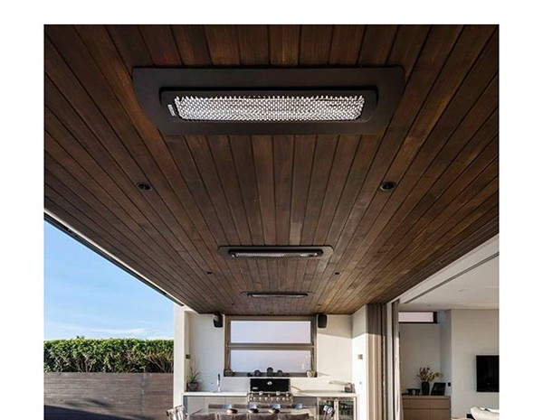 Bromic 3000W Tungsten Electric Radiant Patio Heater  AOKitchens