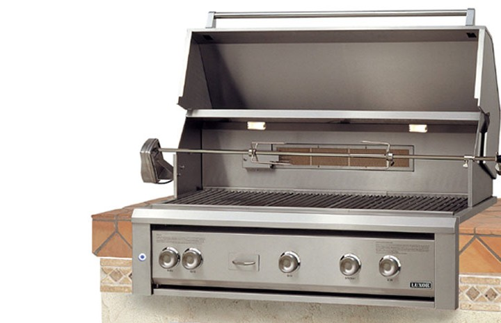 drop in grills for outdoor kitchens model homes kitchen pictures luxor 36 built gas grill affordable when it comes to has you covered we have no doubt that ll love this addition your arsenal of equipment