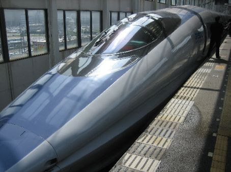 Going home in Style  Nozomi super express bullet train 85 pounds and 4 hours later we are back in Tokyo  Osaka  Hiroshima  Japan