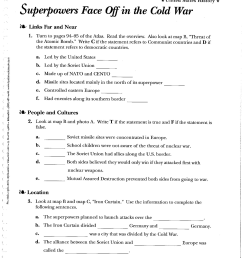 Civil War Worksheets 8th Section 5   Printable Worksheets and Activities  for Teachers [ 3300 x 2550 Pixel ]