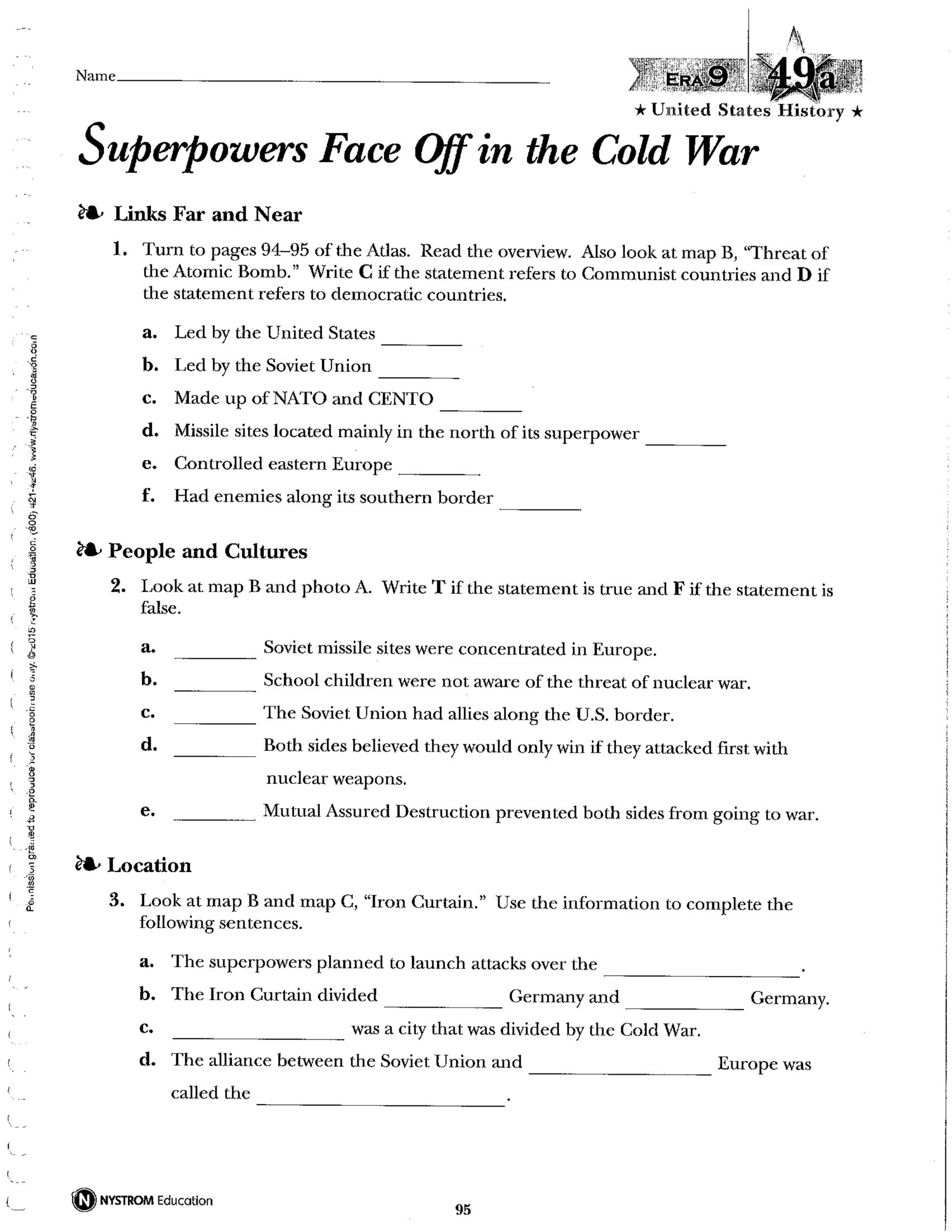 hight resolution of Civil War Worksheets 8th Section 5   Printable Worksheets and Activities  for Teachers