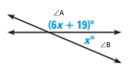 Angle Relationships Test Review 3/7/2019 6th Period