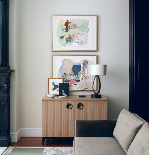 Vignette of Console Table
