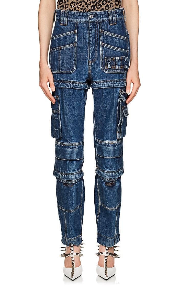 carpenter pants, cargo jeans, utility jeans, utlilty pants,converting jeans, balenciaga