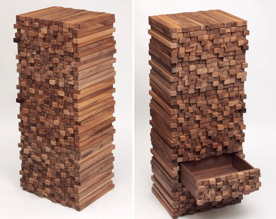 Bespoke Wooden Cabinet Boris Dennler