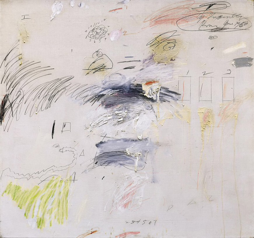Untitled 1960 Cy Twombly