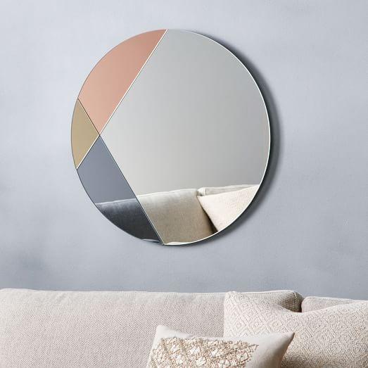 ColorBlocked Mirror