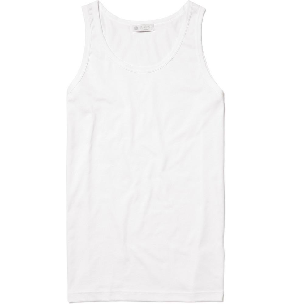 tank top, white shirt