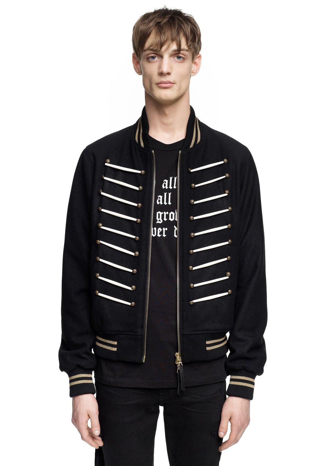 amiri, bomber jacket, band jacket