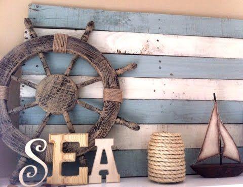 sea wall decor, marine deco