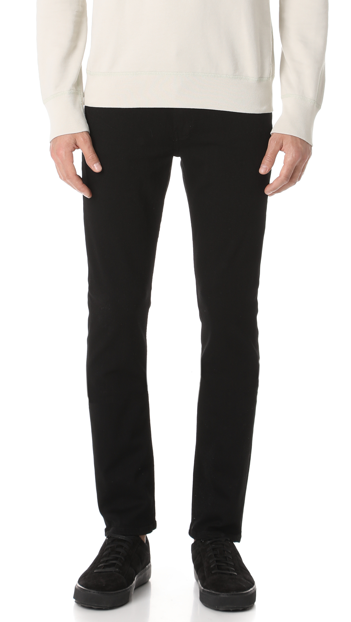 paige denim, jeans, skinny jeans, men's stretch jeans, black jeans