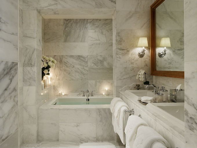 Marble Bathroom Installation