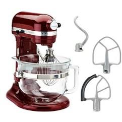 Kitchen Aid Pro Narrow Base Cabinet Kitchenaid Kf26m1qgd 600 Deluxe Stand Mixer Grenadine 6 Qt