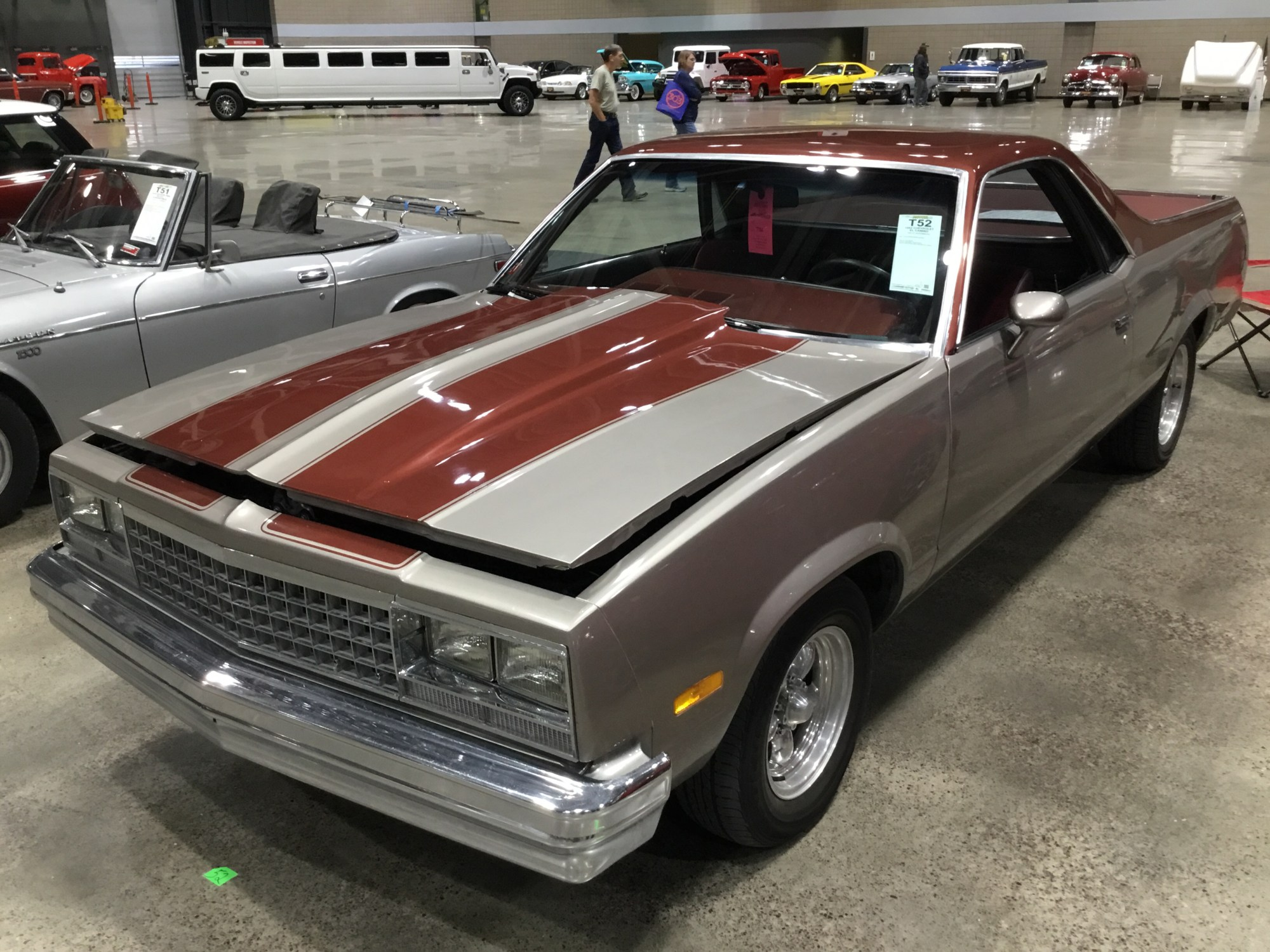 hight resolution of 1982 chevrolet el camino 1 2 ton pickup 6 cyl 231cid 110hp 2bbl ohv