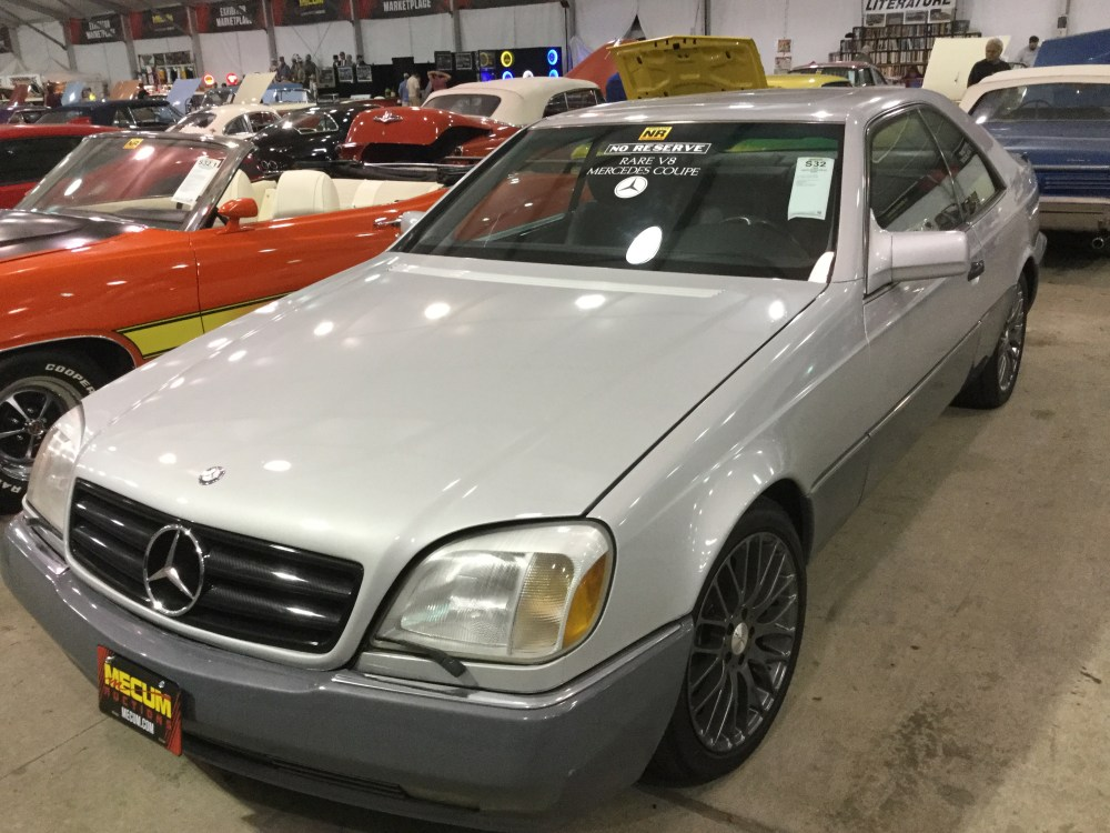 medium resolution of 1994 mercedes benz s500 coupe
