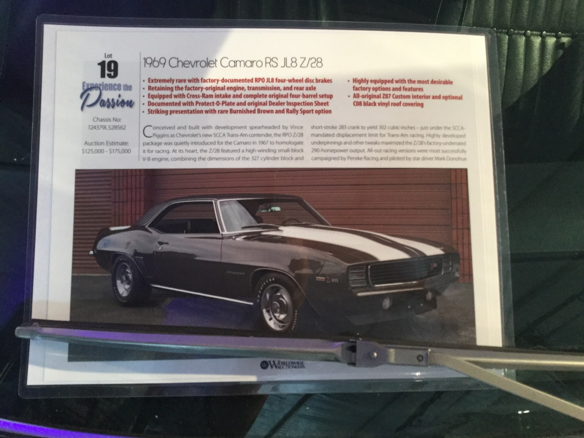 hight resolution of 1969 chevrolet camaro z 28 rs sport coupe
