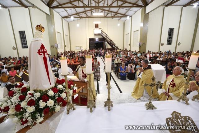 Em Itiruçu – BA, Missões Marinas na Paroquia Santo Antônio