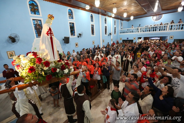 Em Salesópolis – SP, Missões Marianas na Paroquia Nossa Senhora dos Remédios
