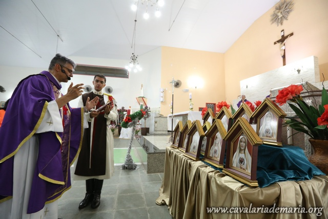 Em Cruzeiro – SP, Missões Marianas na Paroquia Senhor bom Jesus