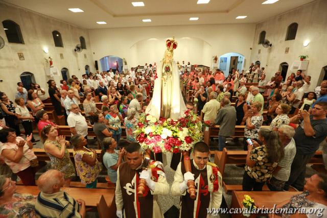 Em Pinhalzinho – SP, Missões Marianas na Paróquia Santo Afonso Maria de Ligório e Nossa Senhora Aparecida